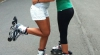 Întrecere inedită! Aproximativ 3.000 de femei au participat la un maraton pe role