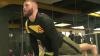 """Lui """"Hulk"""" de Moldova îi place yoga. Cum se relaxează luptătorul Ion Cuţelaba"""