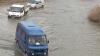 Drum din Străşeni, inundat la fiecare ploaie. Problema e veche de opt ani, dar în continuare fără soluţii