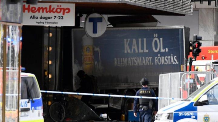 ATAC Stockholm: Prima fotografie cu principalul suspect! Este cel mai căutat om din Suedia (FOTO)