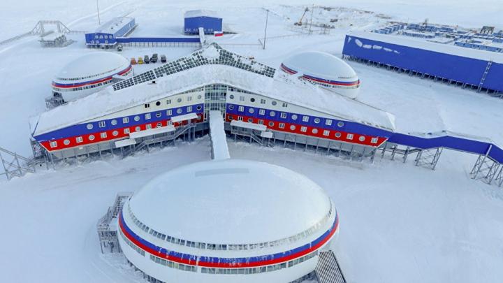 Tur virtual. Cum arată baza miliară a Rusiei, amplasată în Arctica (VIDEO)