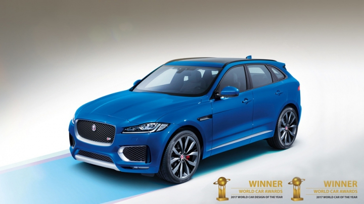 """PREMIERĂ ISTORICĂ! Jaguar F-Pace a câştigat premiul """"Maşina anului în lume"""" (FOTO)"""