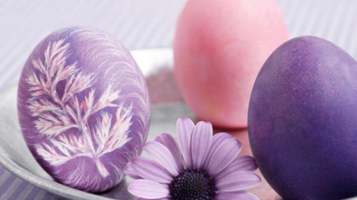 Secretele pentru a obţine cele mai sănătoase şi frumoase ouă de Paşte