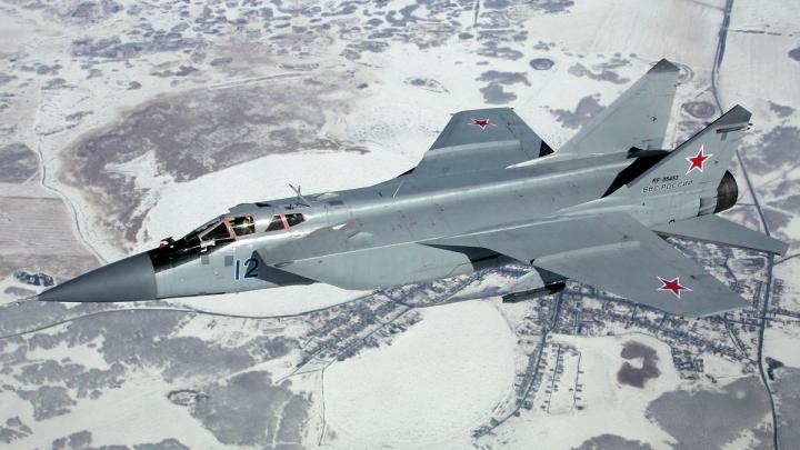 Un avion militar MiG-31 s-a prăbuşit în estul Siberiei