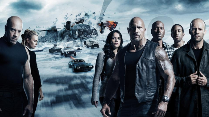 """The Fate of the Furious"", cel mai bun debut global din istoria filmului"