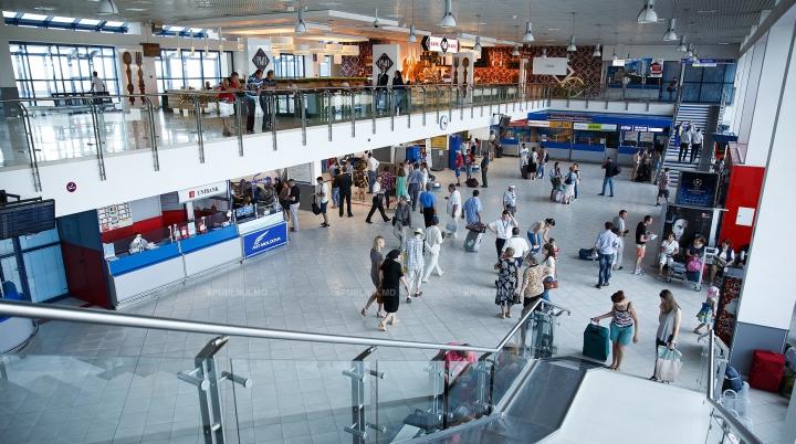 Aeroportul Chișinău și-a reluat activitatea