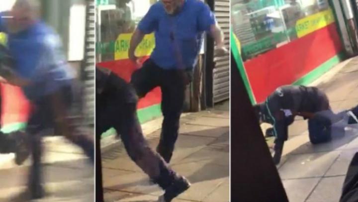 SCENE ŞOCANTE filmate într-un autobuz! Un şofer A LUAT LA BĂTAIE un pasager (VIDEO)