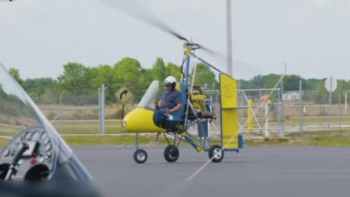"Avioane ""hand made"". Pasiunea unui american ce construieşte giroplane (VIDEO)"