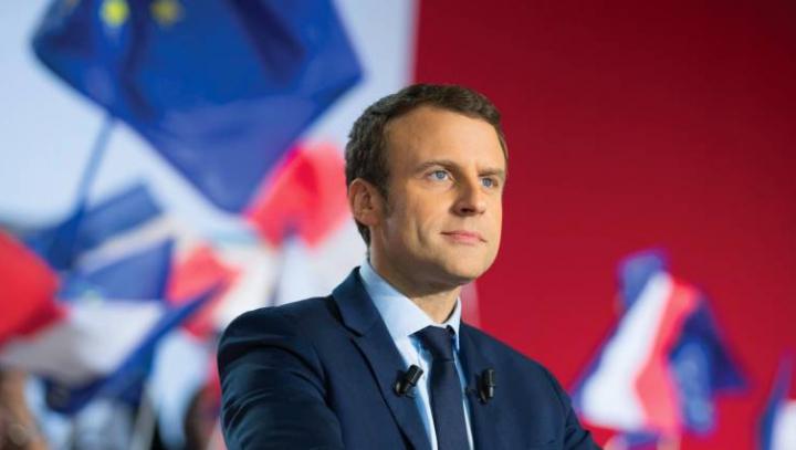 Alegeri prezidenţiale în Franţa. Emmanuel Macron, învingător în primul sondaj după turul I