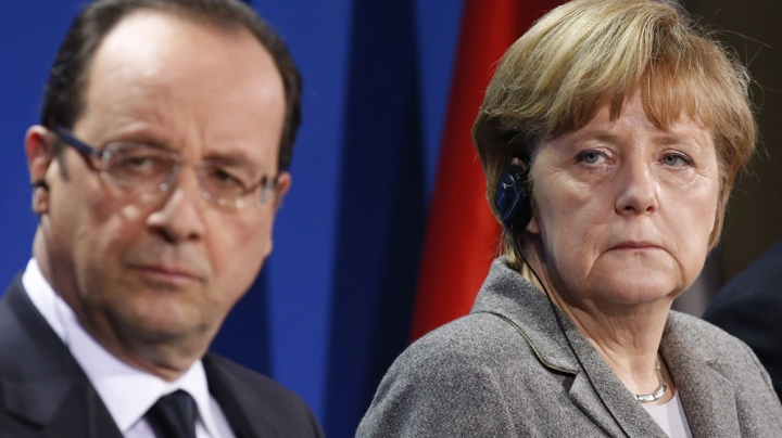 Cancelarul german Merkel și Hollande susțin loviturile aeriene americane din Siria