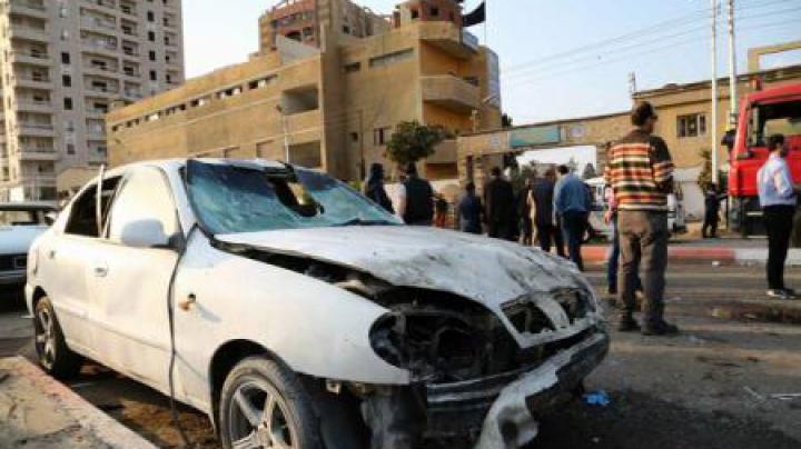 Egipt: 16 răniți în apropierea unui centru al poliției egiptene, după ce o motocicletă capcană a explodat (FOTO)