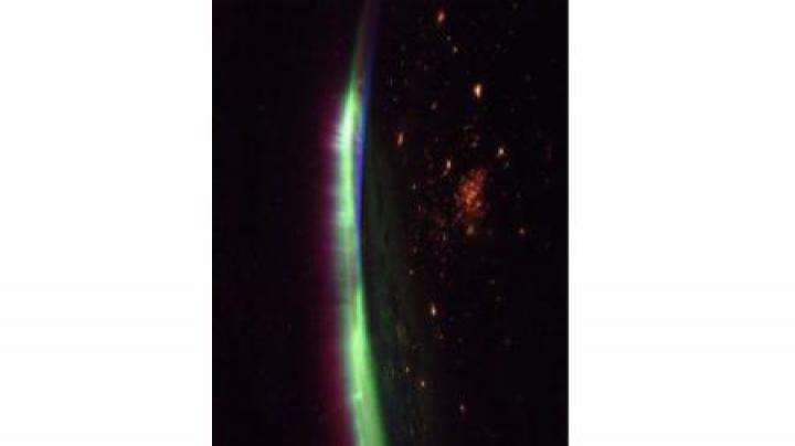 NASA: IMAGINEA SĂPTĂMÂNII Aurora boreală văzută de pe Stația Spațială Internațională