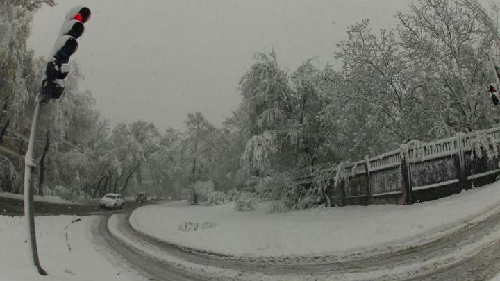 Zăpada a pus stăpânire pe Moldova! Zeci de ACCIDENTE şi SUTE de pene de curent în toată ţara