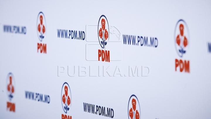"""PDM face precizări privind INFORMAŢIA FALSĂ despre """"cortegiul"""" lui Vlad Plahotniuc"""