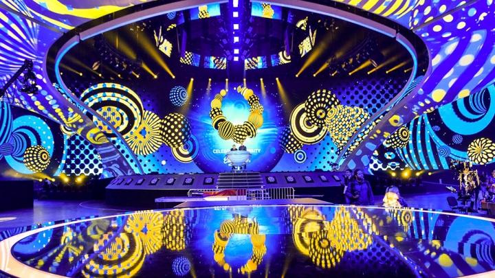 Cum arată scena de la Kiev care va găzdui marele concurs de muzică Eurovision 2017 (GALERIE FOTO)