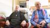 IMPRESIONANT PÂNĂ LA LACRIMI! Întâlnire romantică în ziua în care au împlinit câte 100 de ani (VIDEO)