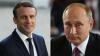 Vladimir Putin şi Emmanuel Macron, faţă-n faţă la Paris. Oficialii vor discuta despre situaţia din Siria și Ucraina