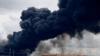 Incendiu de proporții la o fabrică de anvelope din Filipine. Zeci de pompieri cu opt autospeciale au luptat cu focul