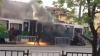 INCENDIU DEVASTATOR: Un tramvai a luat foc din mers în oraşul Lvov din Ucraina (FOTO/VIDEO)