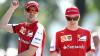 Piloţii de Formula 1 s-au apucat de fotbal. Vettel şi Raikkonen au fost coechipieri într-un meci caritabil