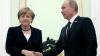 Angela Merkel şi Vladimir Putin vor discuta soarta Ucrainei, Siriei şi Libiei