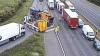 ACCIDENT ÎNFIORĂTOR: Cinci oameni au murit, după ce o mașină a fost zdrobită de un camion