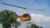 ULTIMA FIŢĂ! Un bărbat a venit cu elicopterul după mâncare la un restaurant (VIDEO)