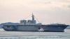Cea mai mare navă de război japoneză va escorta în apele Pacificului un vas american