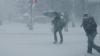 Prima ninsoare în România. Peste o mie de gospodării din Olt au rămas fără energie electrică