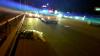Un om şi-a găsit sfârşitul pe viaduct. A fost lovit din plin de un automobil în timp ce traversa strada neregulamentar