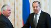 Lavrov şi Tillerson vor discuta din nou despre conflictele din Ucraina şi Siria