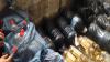 Sute de litri de alcool de contrabandă, descoperite în mai multe magazine din sectorul Ciocana (VIDEO)