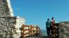Selfie mortal la Cetatea Devei. Un tânăr a căzut în gol după ce a încercat să își faca o poză pe zid