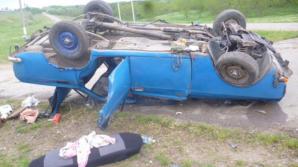 O femeie a ajuns în reanimare din cauza unui şofer fără permis de conducere