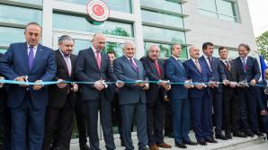 Inaugurarea oficială a complexului Ambasadei Republicii Turcia în Republica Moldova (GALERIE FOTO)