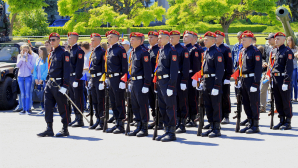 """Ministerul Apărării a organizat """"Ziua Recrutului"""" în municipiul Chişinău (FOTOREPORT)"""