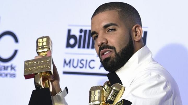 Rapperul Drake, marele câștigător al ediției din 2017 a Billboard Music Awards