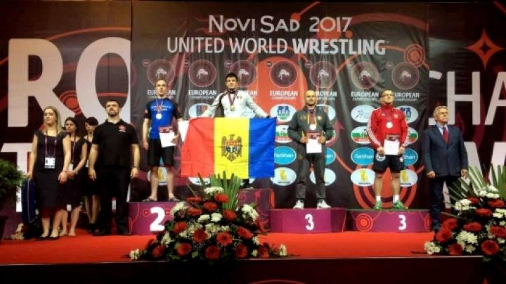 Căpitanul de poliție Ion Cojocaru, medaliat cu bronz la Campionatul European pe Grappling din Serbia