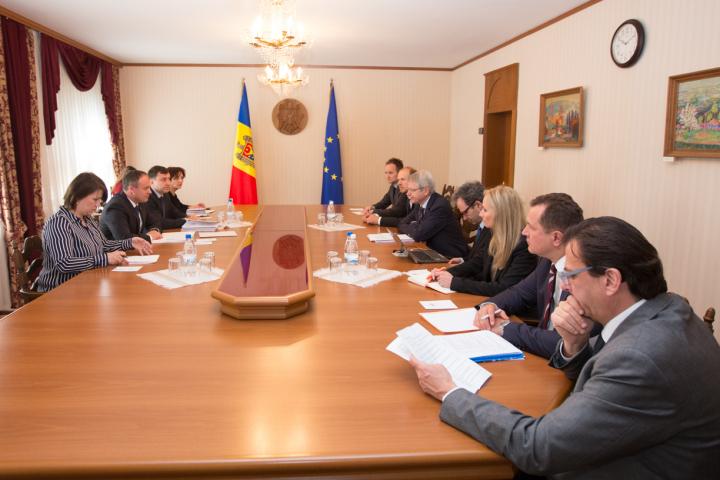 Andrian Candu, la întrevedere cu delegația comună a Comisiei de la Veneția și OSCE/ODIHR (FOTO)