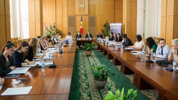 """A fost prezentat raportul de progres al Programului """"Integrarea migraţiei în strategiile naţionale de dezvoltare"""" (FOTO)"""