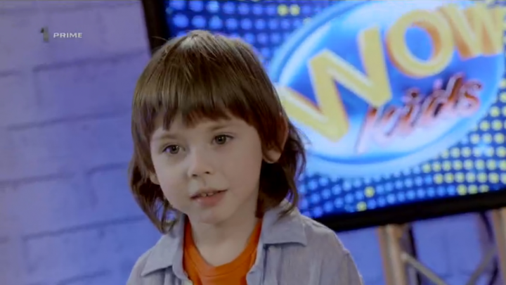 David Croitoru, un adevărat SHOWMAN pe scena WOW Kids! Juriul a fost cucerit de micul stilist (VIDEO)