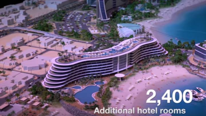 Complex turistic de 1,7 miliarde de dolari. Dubai vrea să construiască două insule artificiale (VIDEO)