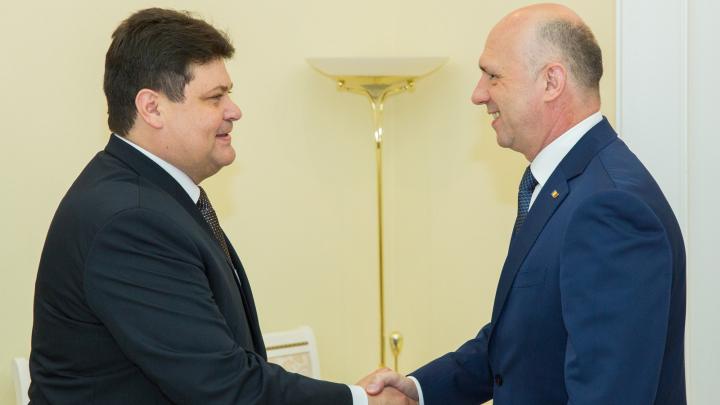 Premierul a discutat cu Ambasadorul Republicii Belarus despre noile inițiative de cooperare bilaterală (FOTO)