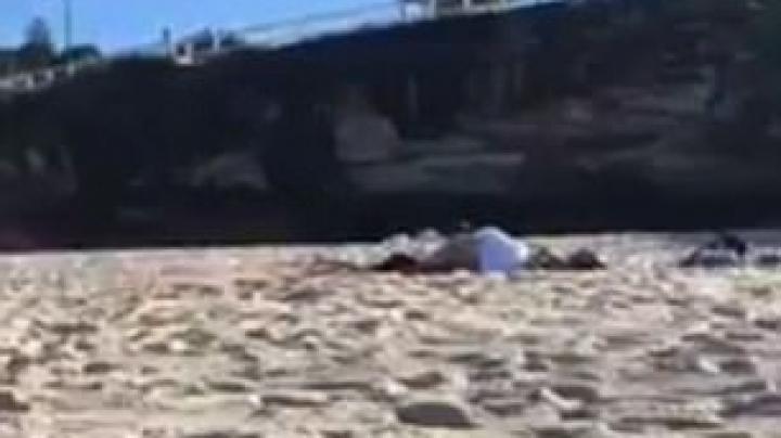 Imagini fierbinți surprinse pe o plajă. Ce făcea un cuplu în văzul tuturor (VIDEO)