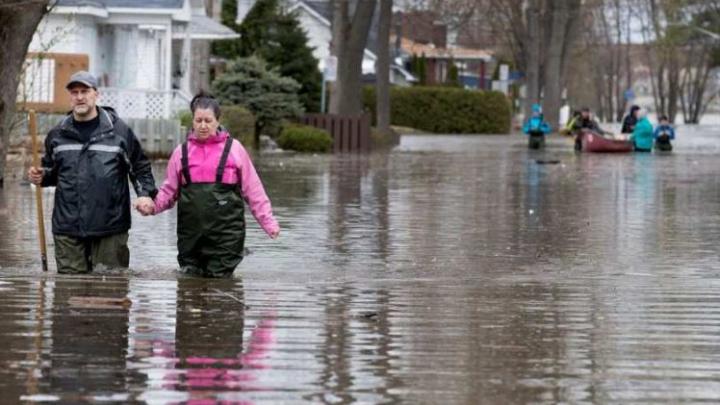 STARE DE URGENŢĂ în Montreal din cauza inundaţiilor. Sute de persoane, obligate să-şi părăsească casele
