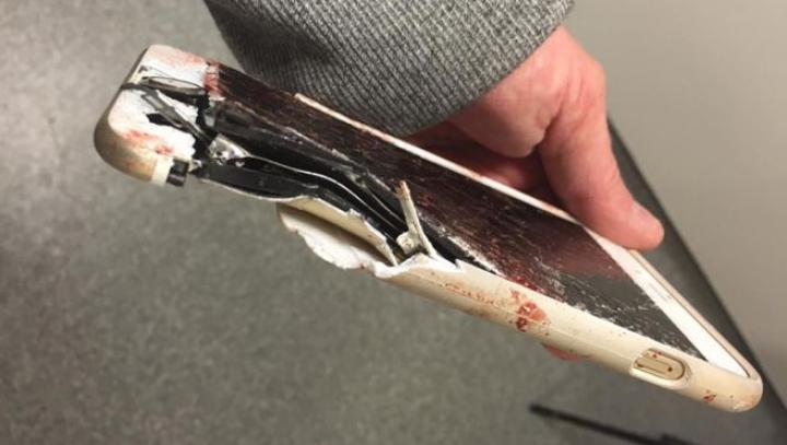 Un iPhone a salvat viața unei victime ale atacului terorist de la Manchester