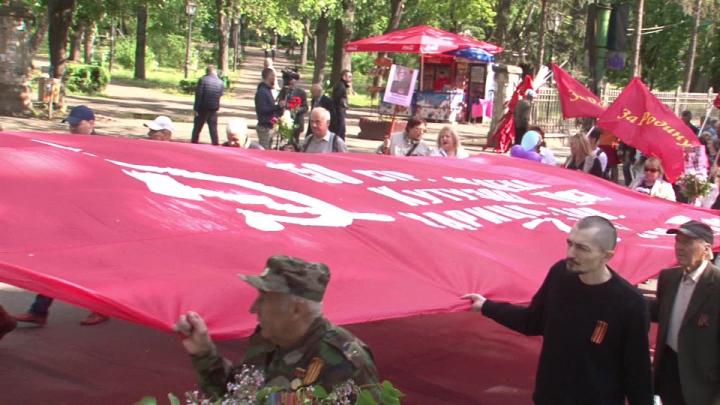 Roșu în calendar pentru comuniști. Membrii PCRM au sărbătorit un secol de la revoluția socialistă
