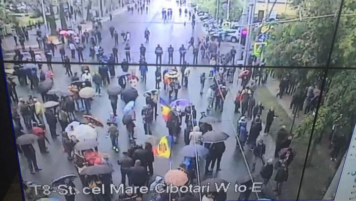 Eșec din nou! Cetățenii au spus PAS protestului opoziției și societății civile politizate  (FOTO DE SUS)