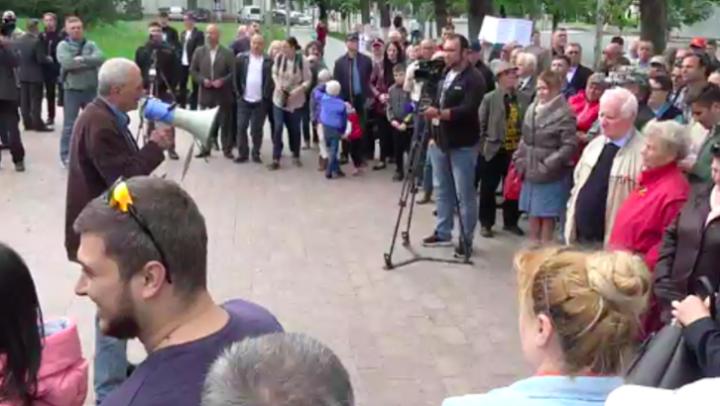 Un nou protest eșuat al partidelor de opoziție și al ONG-urilor afiliate lor
