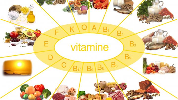Trei cele mai importante vitamine pentru corpul uman
